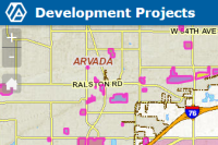Development Projects Interactive Map