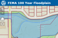 FEMA 100 interactive Map