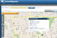 Crime Reports Interactive Map
