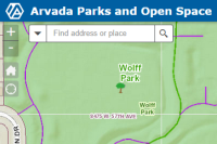 Parks and Trails Interactive Map