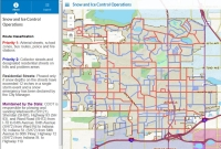 Streets Snow Routes Interactive Map