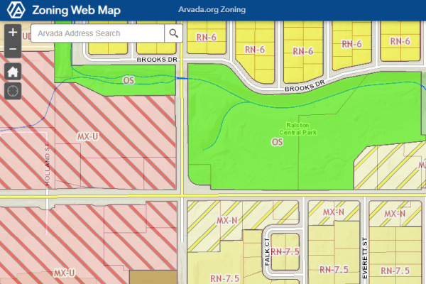 Zoning Interactive Map